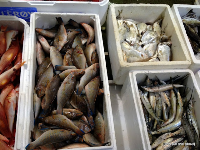 {Erin Out and About} Billingsgate Market