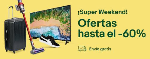 Mejores ofertas Super Weekend marzo 2019 eBay