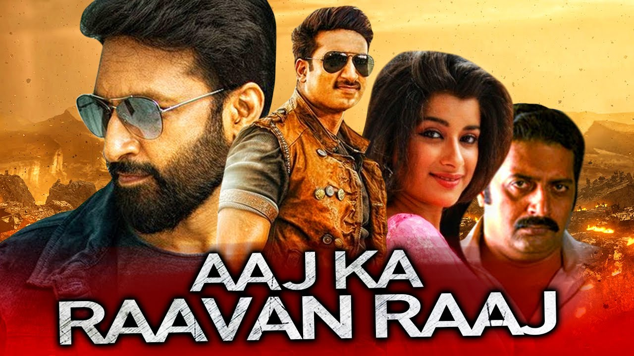 Aaj Ka Raavan Raaj (Yagnam) 2020 Hindi Dubbed 720p WEBRip 550MB Free Download