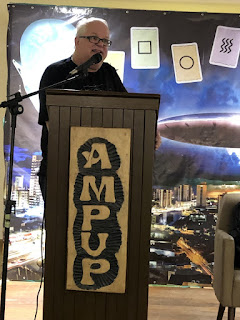 Ademar J. Gevaerd palestrando – AMPUP