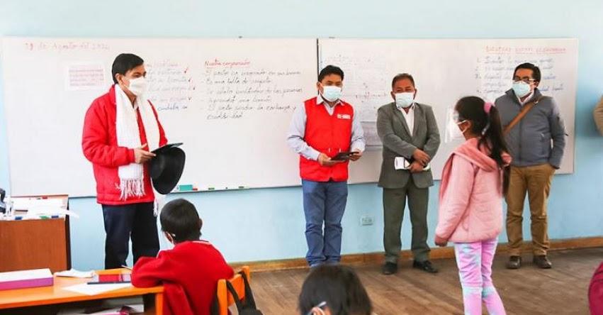 Gobierno busca volver a clases semipresenciales de manera segura y voluntaria
