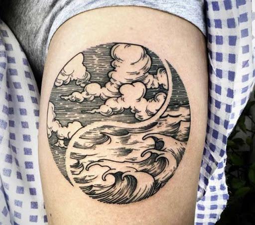 meilleure vague de tatouages que vous verrez jamais id es et photos de tatouages. Black Bedroom Furniture Sets. Home Design Ideas