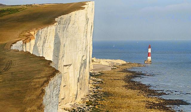O penhasco branco de Beachy Head – Inglaterra