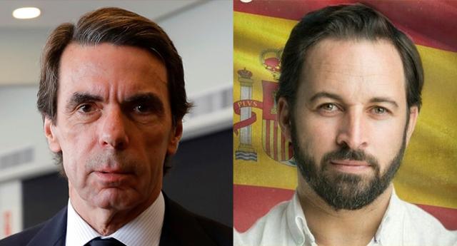 """Aznar sobre el líder de Vox, Santiago Abascal: """"Es un chico lleno de cualidades"""""""