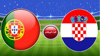 مشاهدة مباراة البرتغال وكرواتيا اليوم دوري الامم الاوروبية
