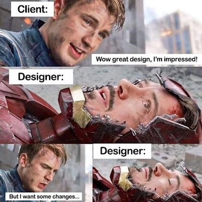 desainer dan klien