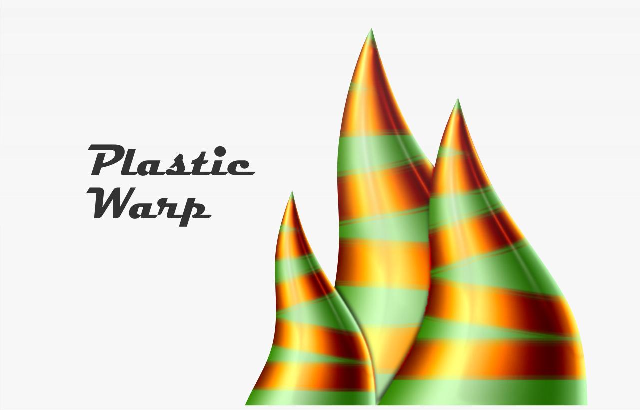 Menambahkan Efek Plastic Wrap Pada Objek