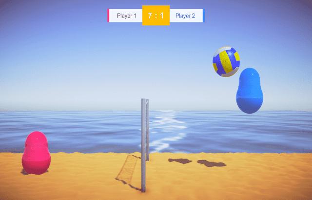 لعبة Blobby Volley للكمبيوتر و الجوال