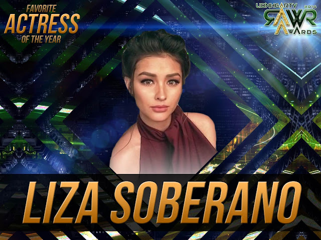 CUB: Liza Soberano wins Favorite Actress of the Year #RAWRAwards2016