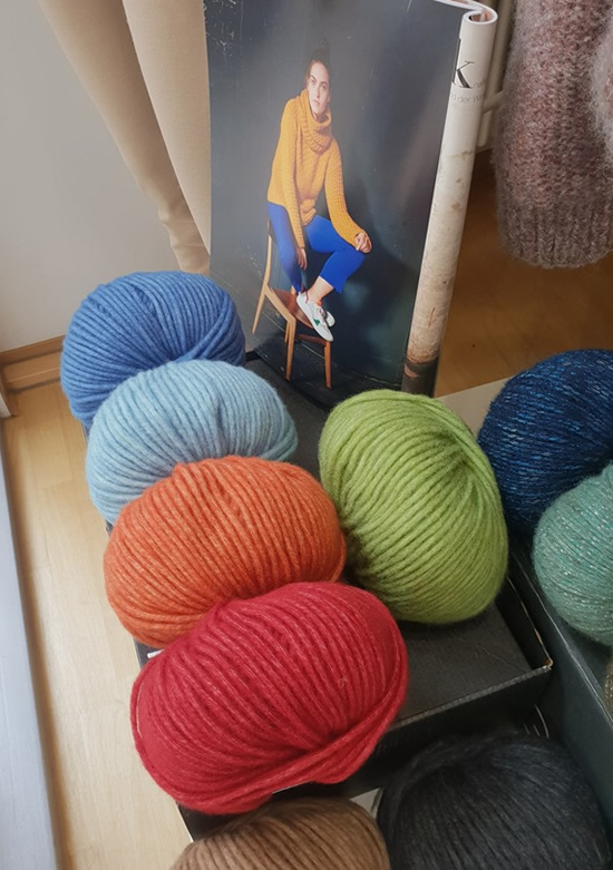 Wool shop in Trier, Germany | Happy in Red
