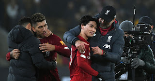 Klopp: Minamino does really well in 1st PL game & completely integrated in team