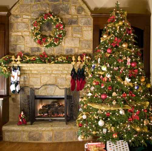 Holiday Home Design Ideas: Modern House: The Best Christmas Decorations Ideas For