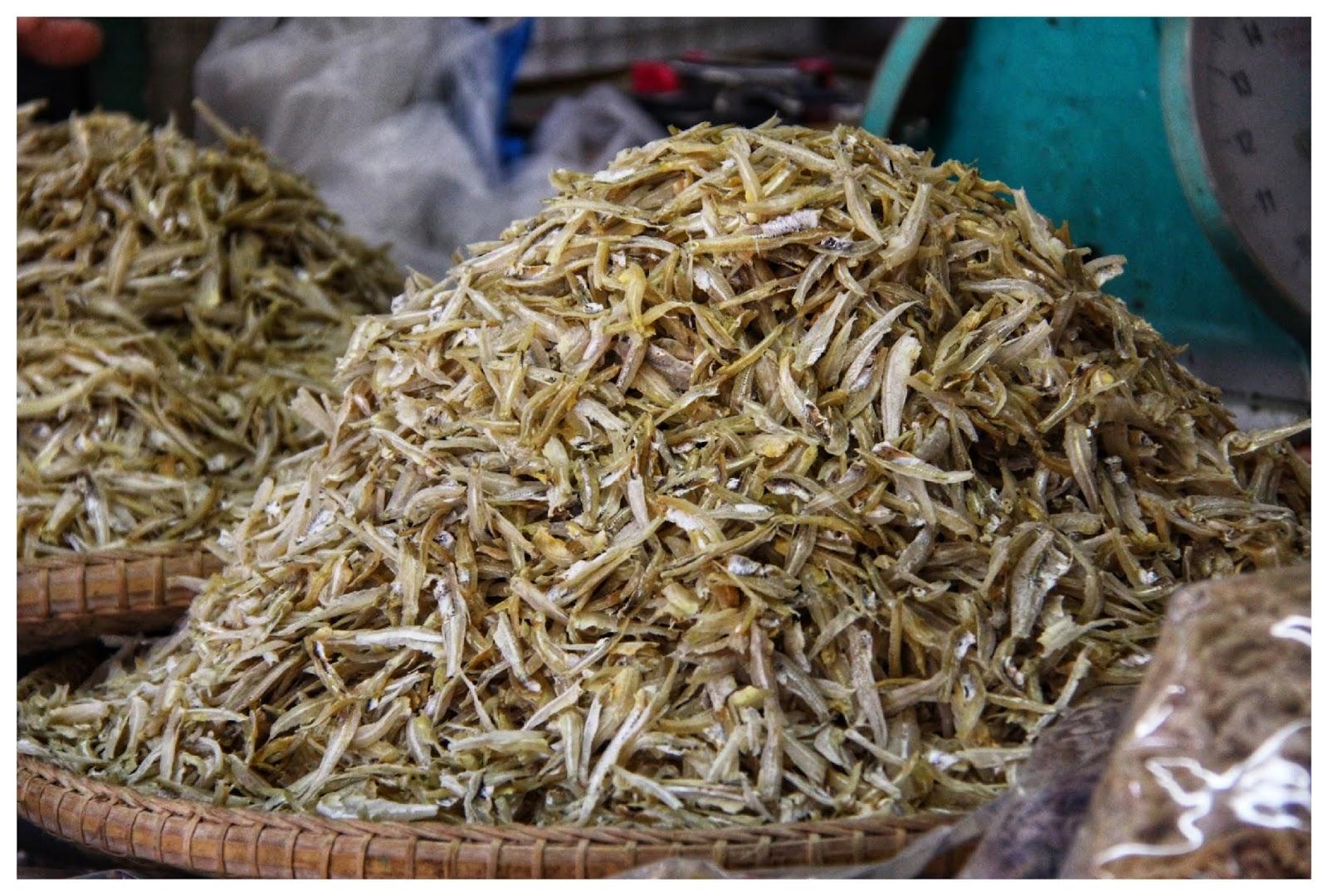 Ikan Bilis Pasar Besar Kinabalu