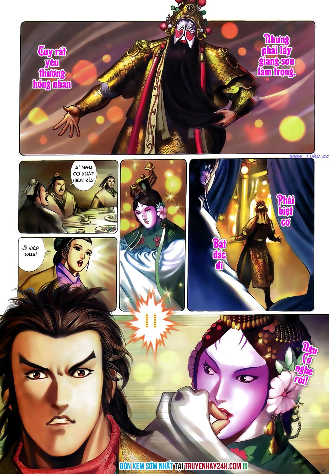Anh hùng vô lệ Chap 24 trang 32