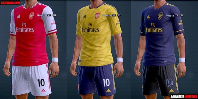 separation shoes 3fd0c c12a4 PES 2013 Kits Arsenal F.C. Season 2019-2020