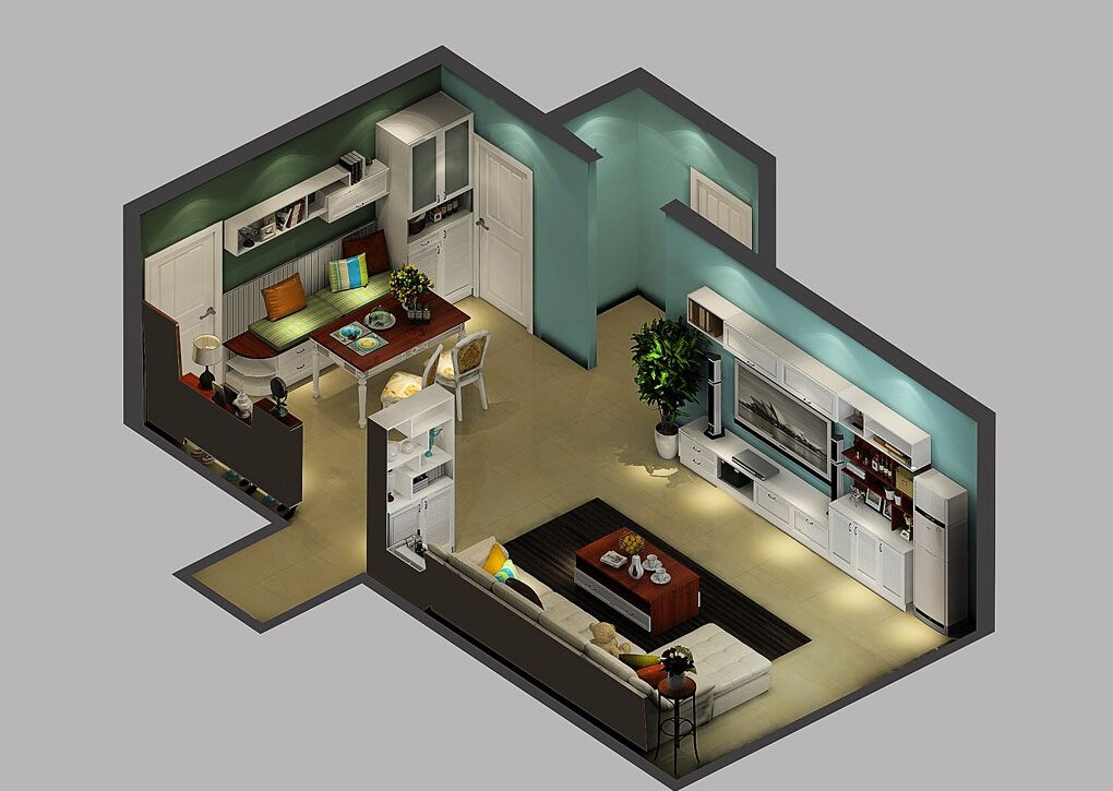 korean-style-house-5162807 35 Sky View 4D American House Plan Styles Interior