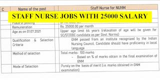 25000 Salary Staff Nurse Jobs in West Bengal