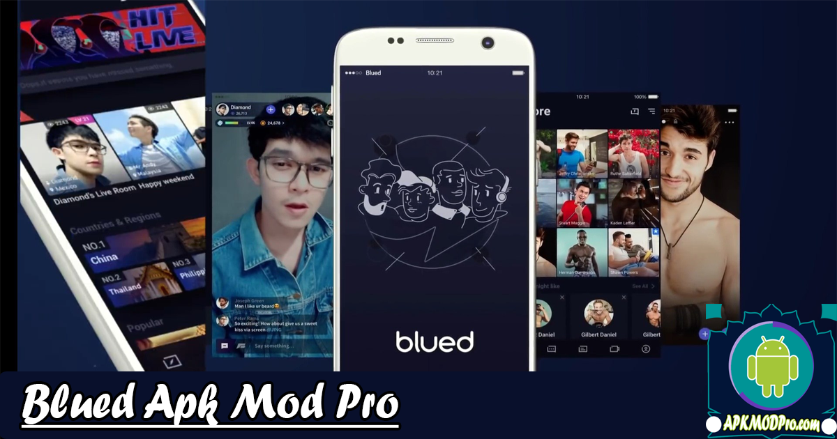 Download Blued-Gay Social, Live Chat Mod Apk | Terbaru 2020