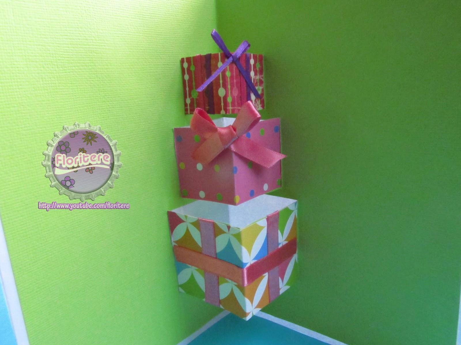 ~El bLoG de fLoRiTeRe~ Como hacer Tarjeta para cumpleaños  DIY Birthday Card