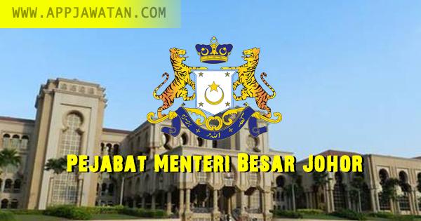 Jawatan Kosong kerajaan di Pejabat Menteri Besar Johor