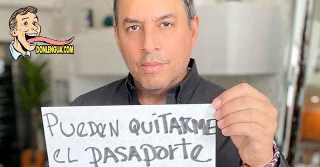 Daniel Sacos le da con el tobo a Iris Varela por su nacionalidad