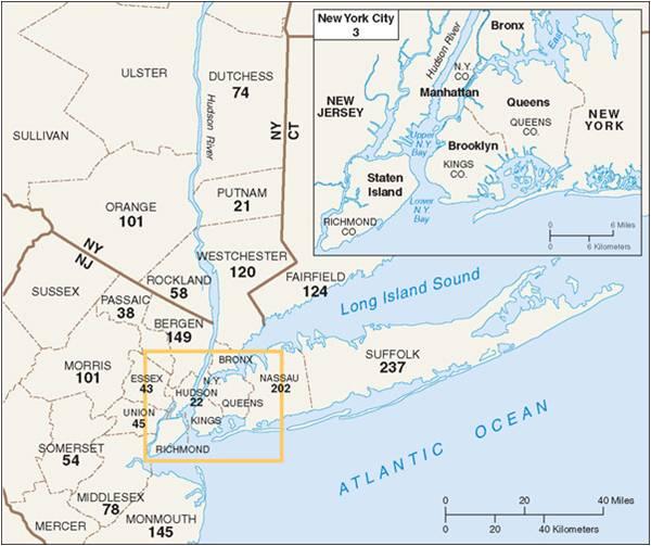 Long Island: Long Island: Long Island Part Of BosWash Megalopolis