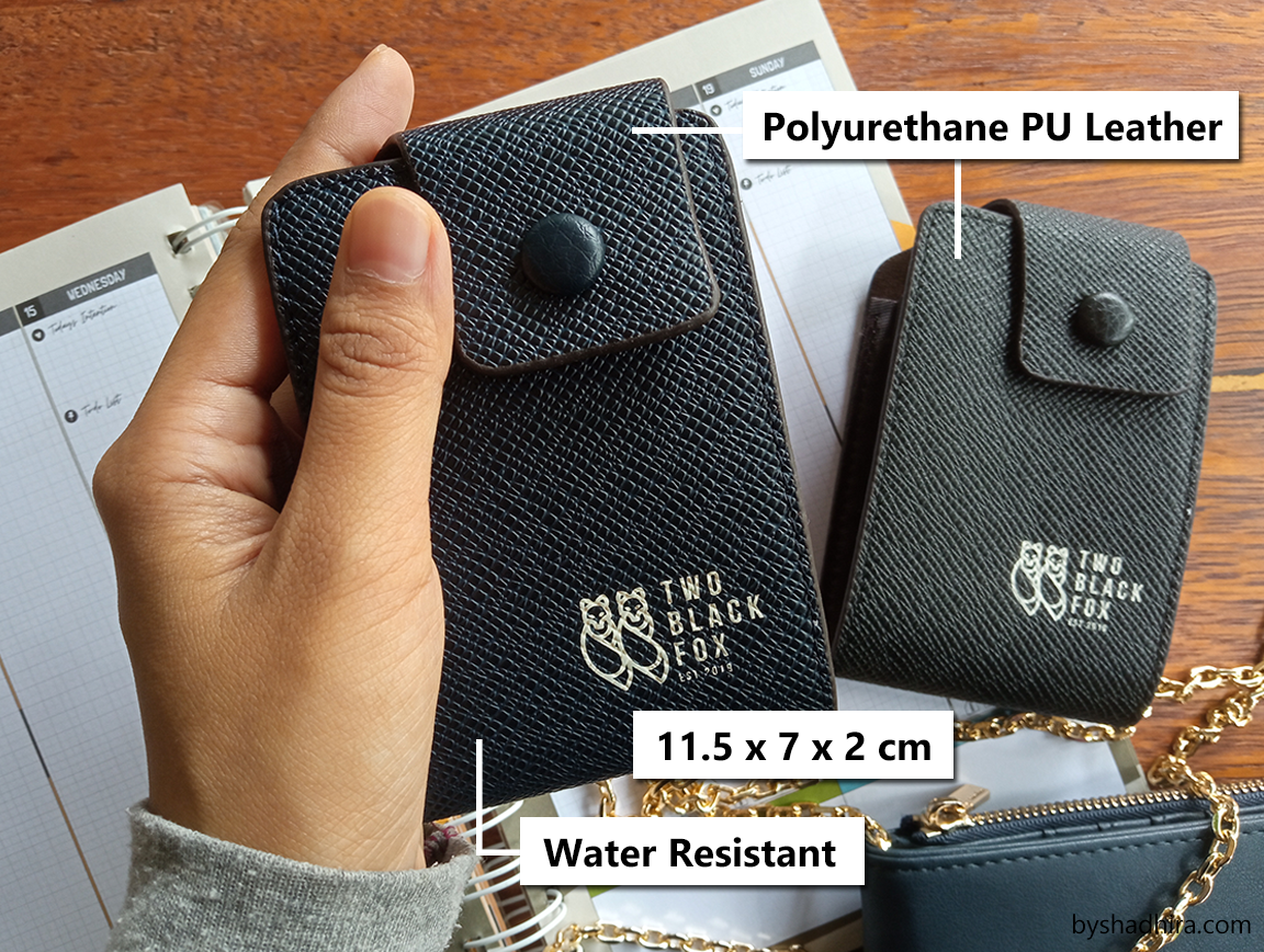 card holder pu leather