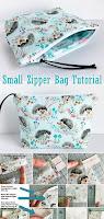 Cute Small Zipper Bag Tutorial