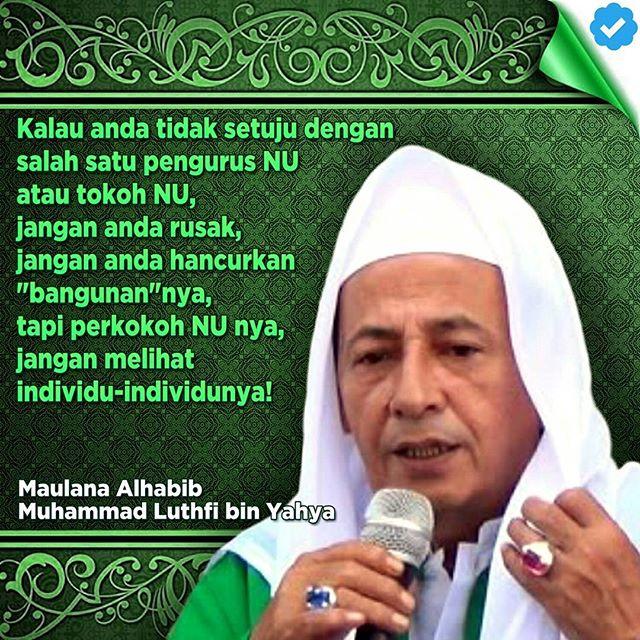 Habib Luthfi: Santri Jangan Belajar Halal Haram Saja