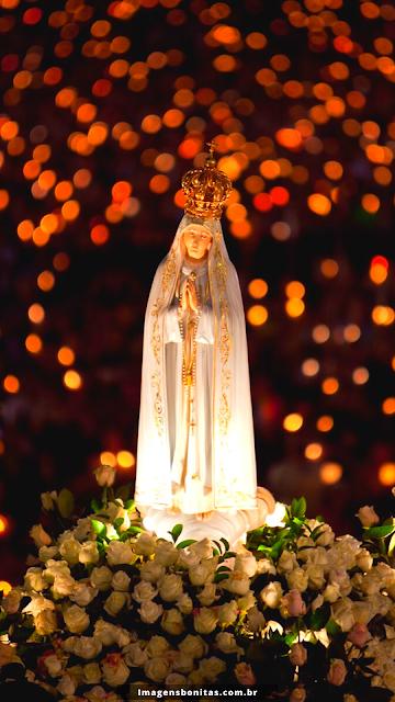 Wallpaper de Nossa Senhora de Fátima para celular
