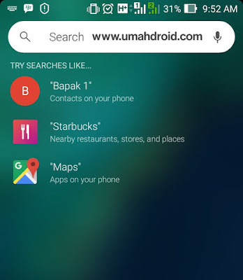 Quick Universal Search Android App