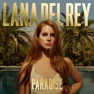 Lana Del Rey, capa do EP Paradise