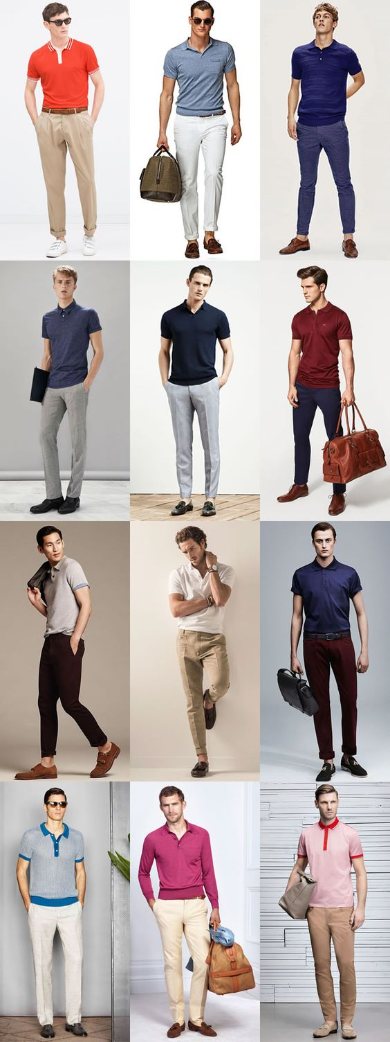 50+ Summer Style Polo Shirt Outfit Men casual Jeans Menswear - WallpaperDPs