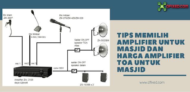 Tips Memilih Amplifier Untuk Masjid Dan Harga Amplifier TOA Untuk Masjid