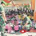 Bina Kreatifitas Anak, Personel Koramil 0821/13 Kunir Dukung Lomba Mewarna