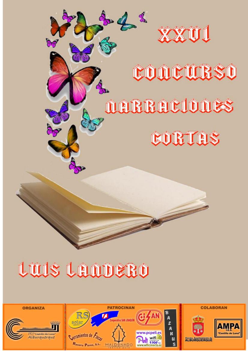Concurso Secundaria: Narraciones cortas Luis Landero