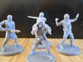 Fireteam Zero hero miniatures