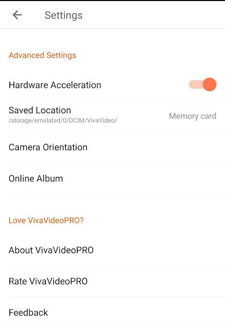 برنامج VivaVideo Pro بدون علامة مائية اخر اصدار