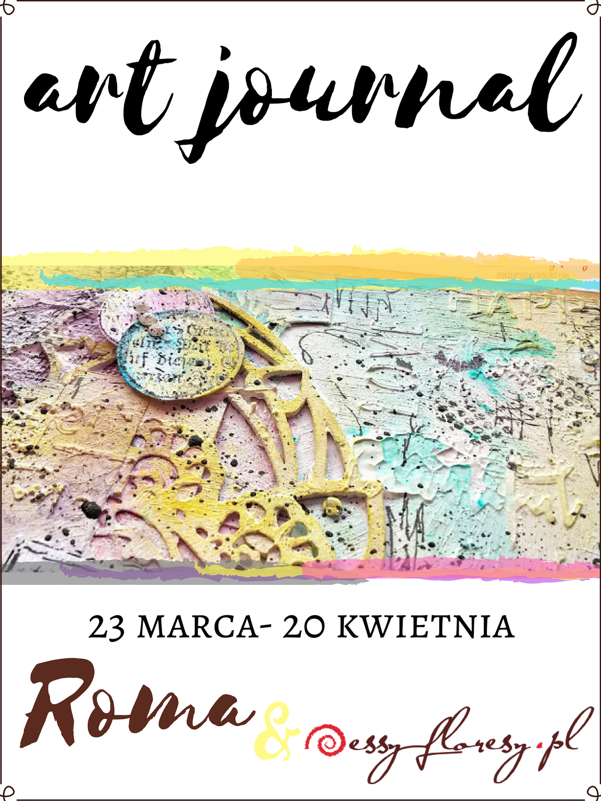 Art journal - zabawa z Romą