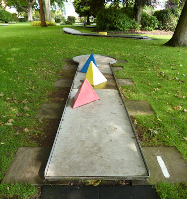Miniature Golf at Cae Glas Park in Oswestry