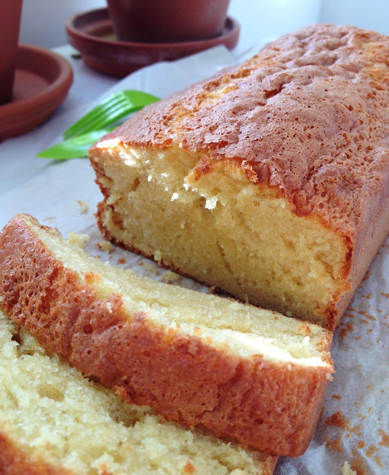 sweet kwisine, quatre-quart, gâteau, cuisine légère, sans beurre, goûter, gâteau facile