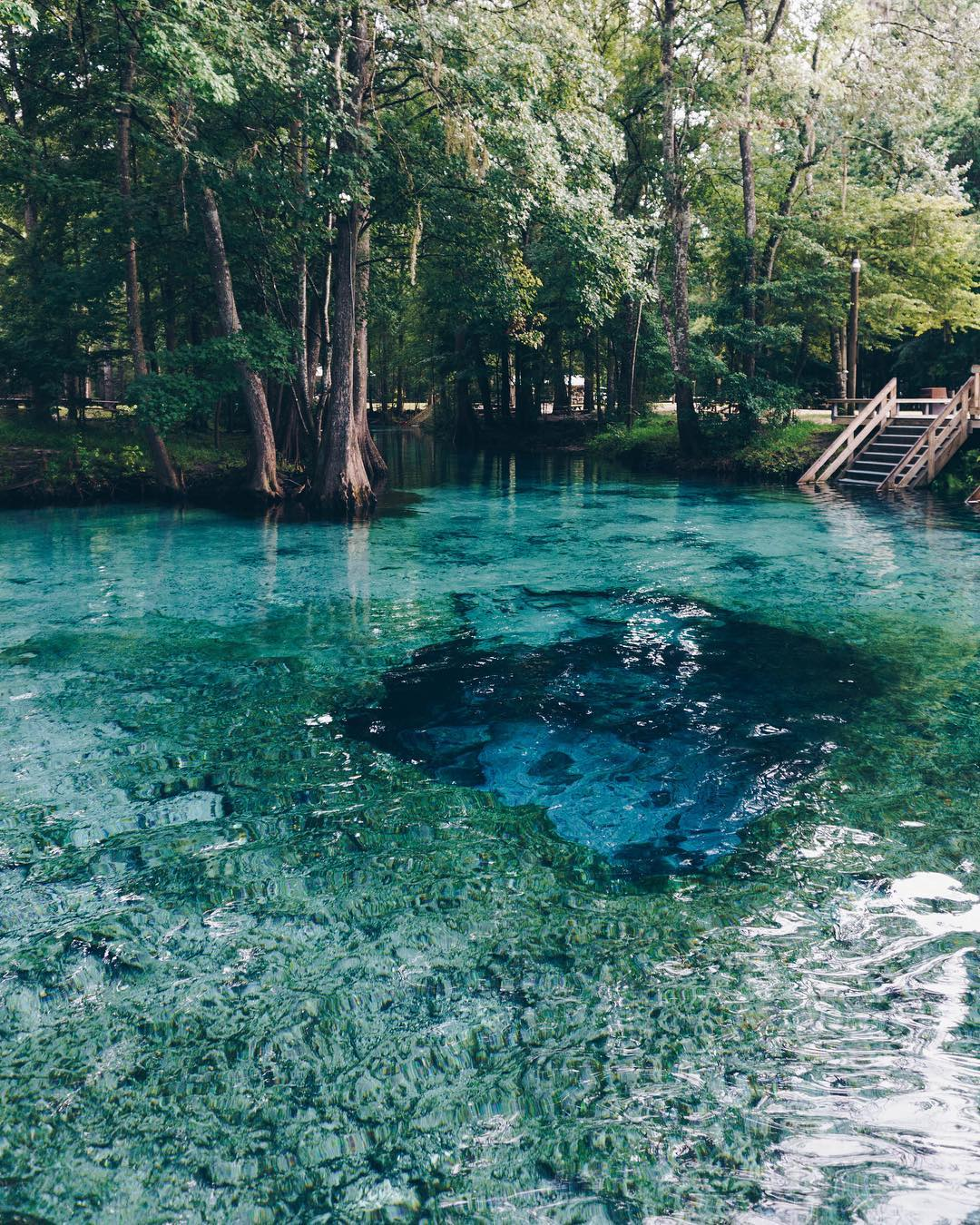 Ginnie Springs in High Springs, Florida