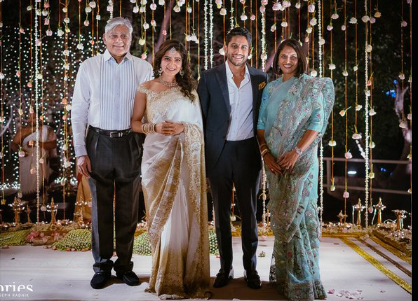 Samantha and Naga Chaitanya Engagement Photos