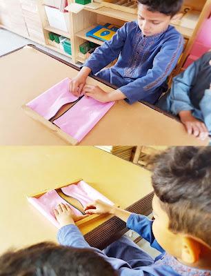 Montessori Zipping Frame