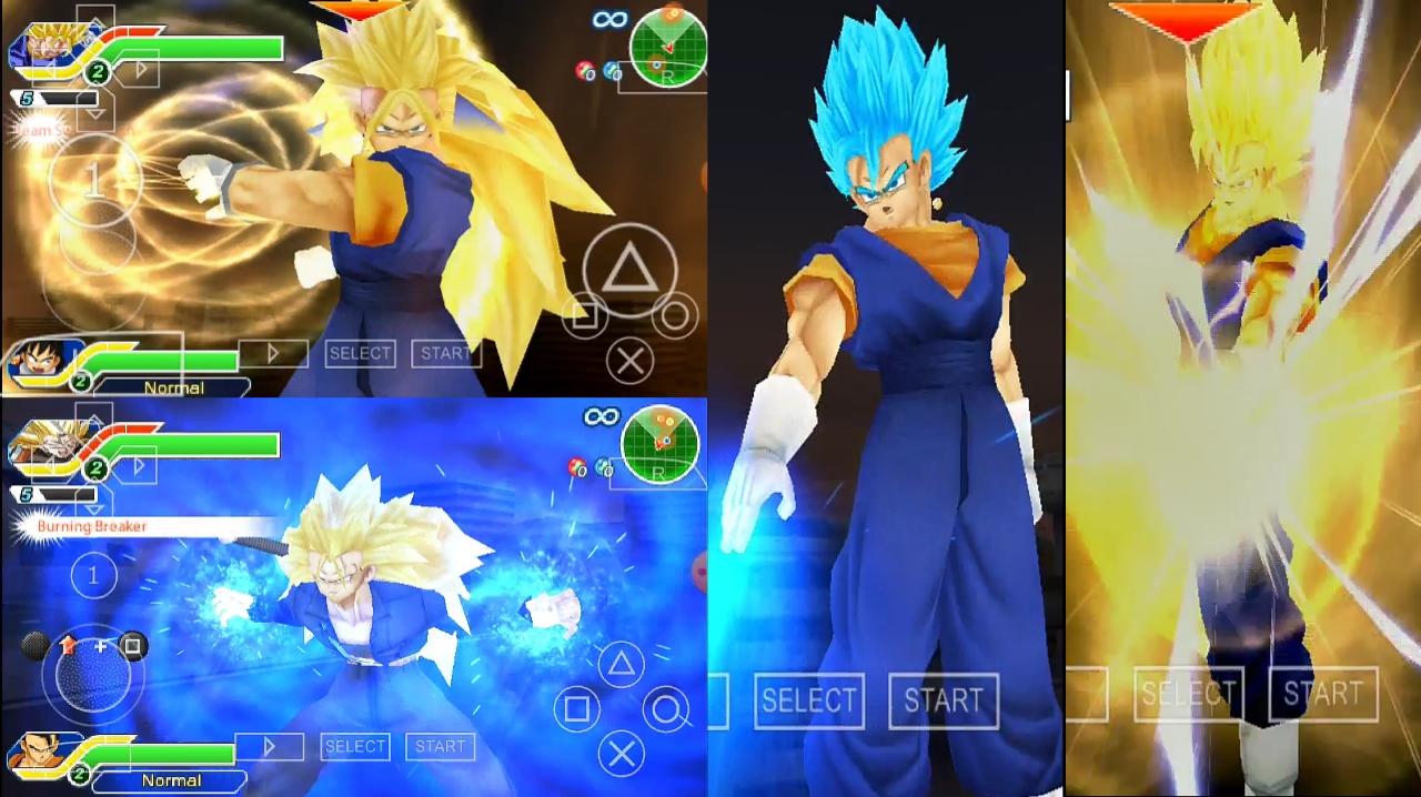 Dragon Ball Z Vegito Blue