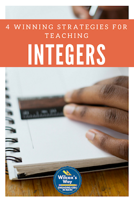 integers-number-lines-formative-assessment