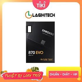 Ổ Cứng gắn trong SSD Samsung 870 EVO 2.5 inch sata III - Hàng Nhập Khẩu, Samsung