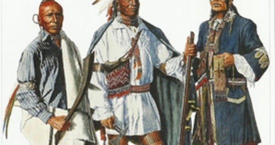 Flintlock and tomahawk Tribes of the Great Lakes North