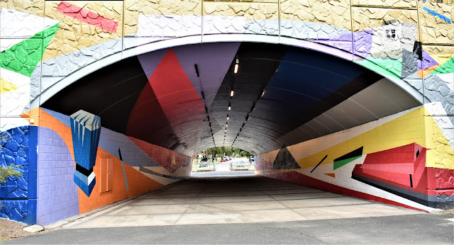 Kingsgrove Public Art | Canal to Creek Street Art by Mistery & Mikey Freedom