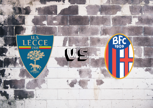 Lecce vs Bologna  Resumen